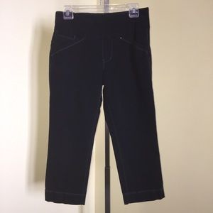 JAG Jeans Capris Pull On Classic Fit Size 6 Petite